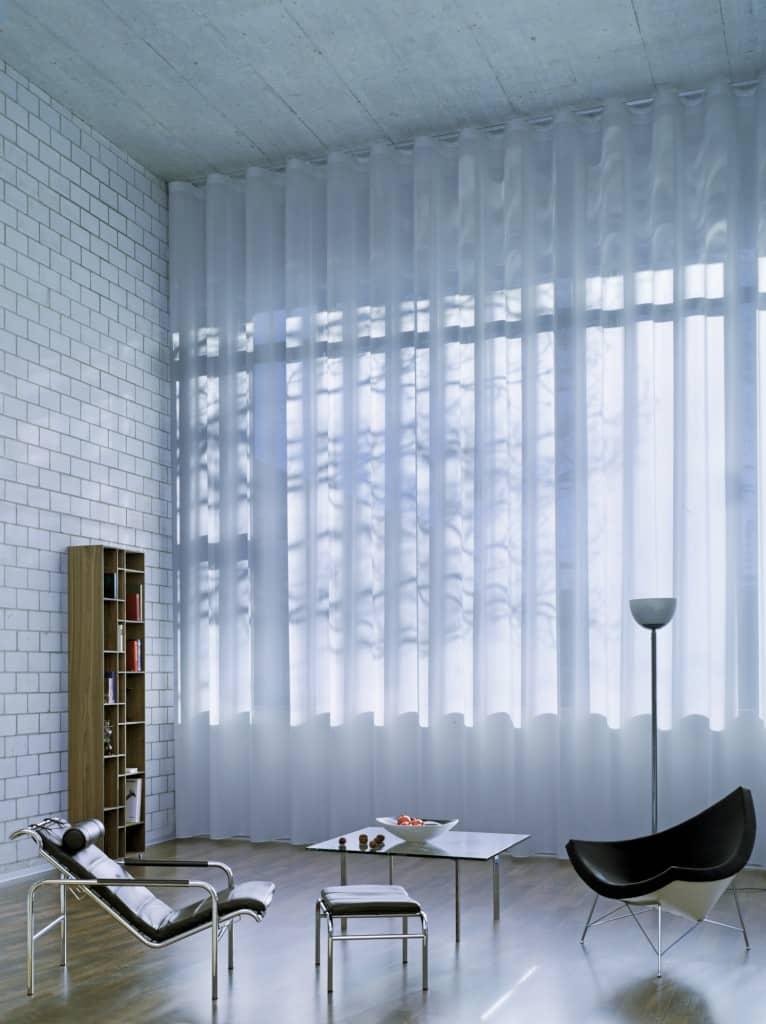 Etofea voilage wave solution de rideaux pour architecte for Voilage pour rideaux