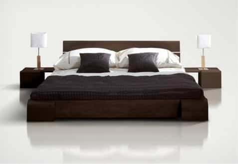 etofea conjuguez confort et tendance dans la chambre coucher avec un lit design etofea. Black Bedroom Furniture Sets. Home Design Ideas