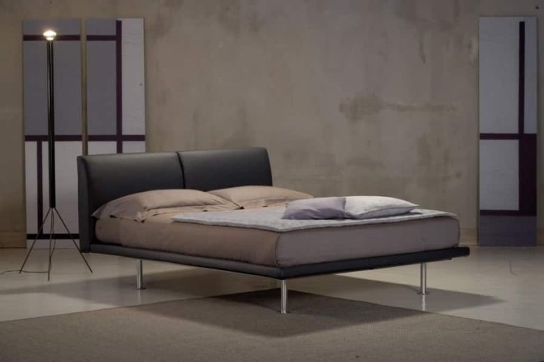 lit design chambre à coucher