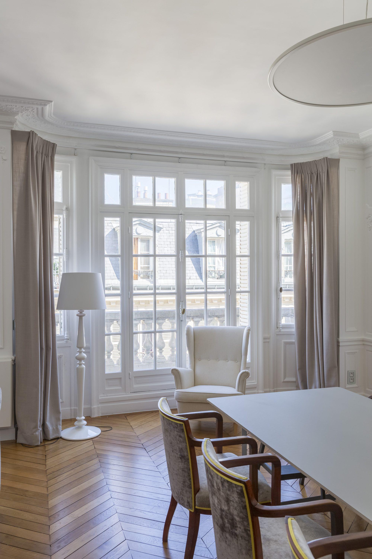 Type De Rideaux Pour Fenetre Cintrees etofea rideaux sur mesure à paris 75016, habillage d'un