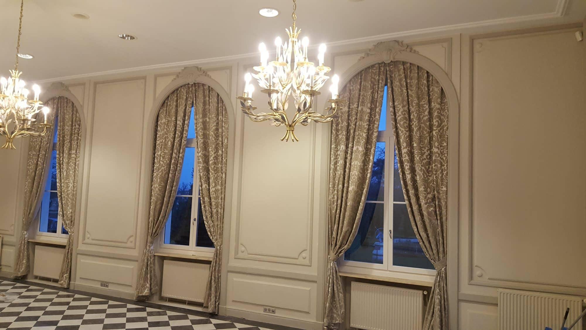 Etofea Rideaux Occultants Sur Mesure Pour Le Chateau De Buc