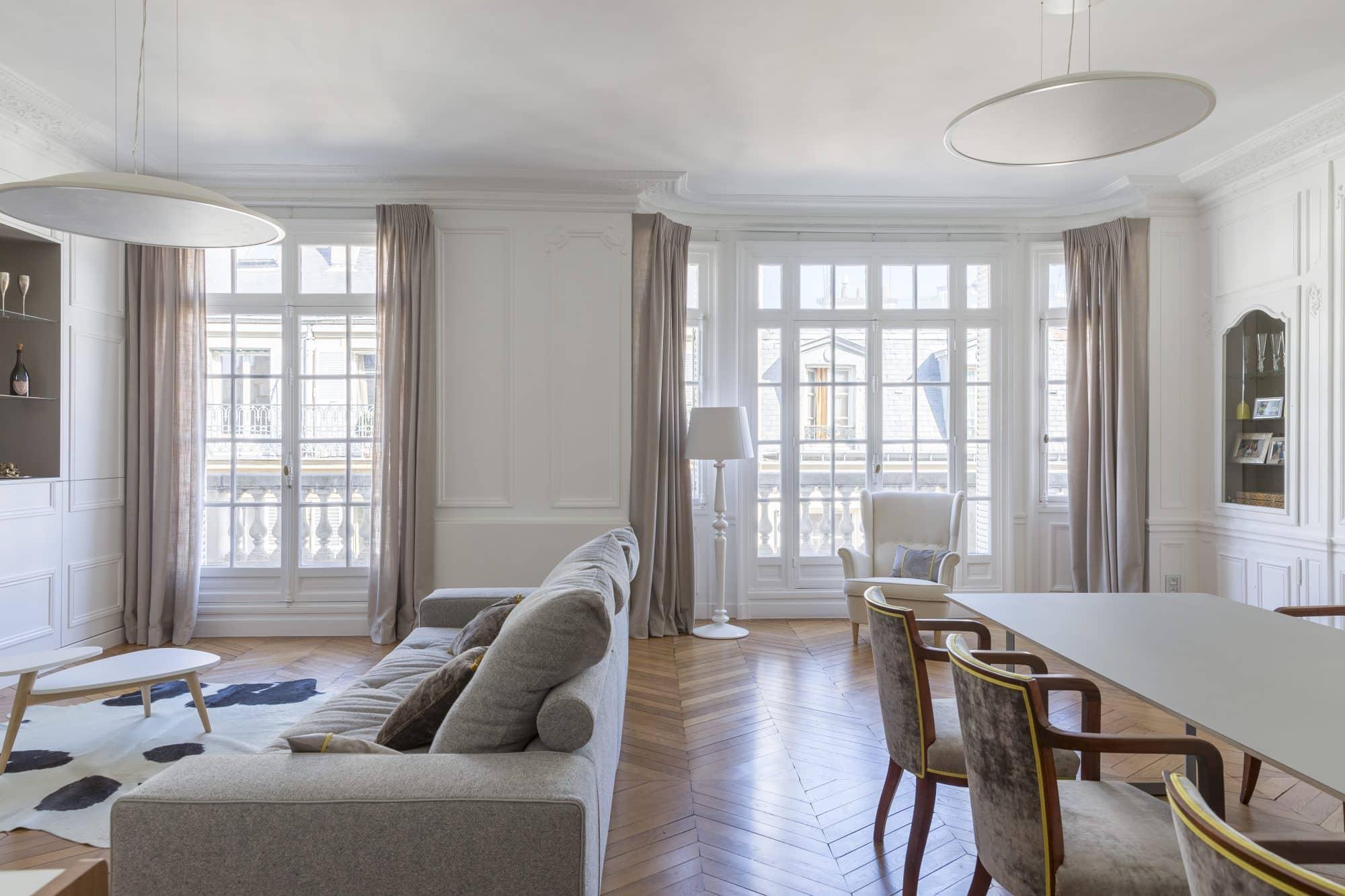 etofea rideaux sur mesure paris 75016 habillage d 39 un. Black Bedroom Furniture Sets. Home Design Ideas