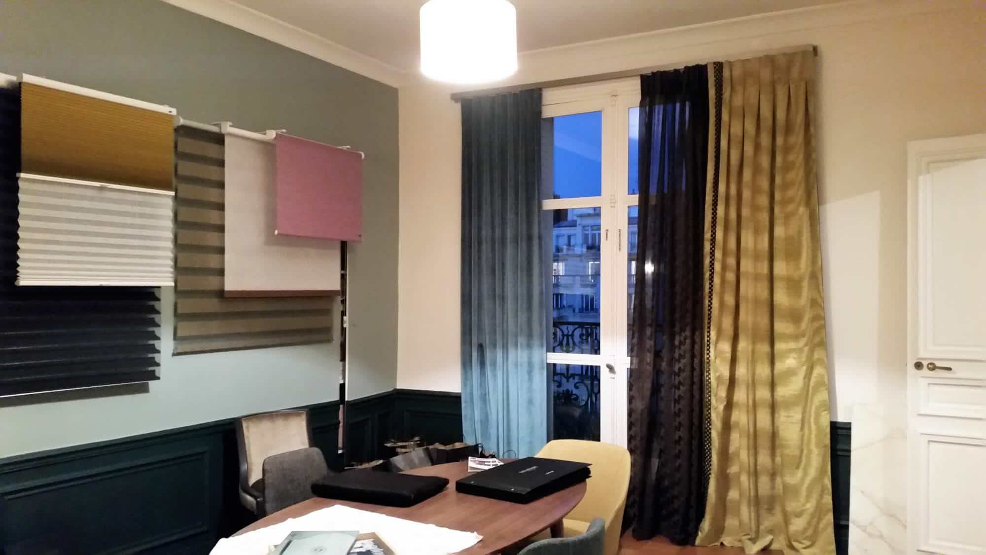 etofea rideaux haut de gamme paris associons plusieurs tissus. Black Bedroom Furniture Sets. Home Design Ideas