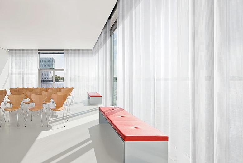 rideaux sur mesure bureau professionnel Paris