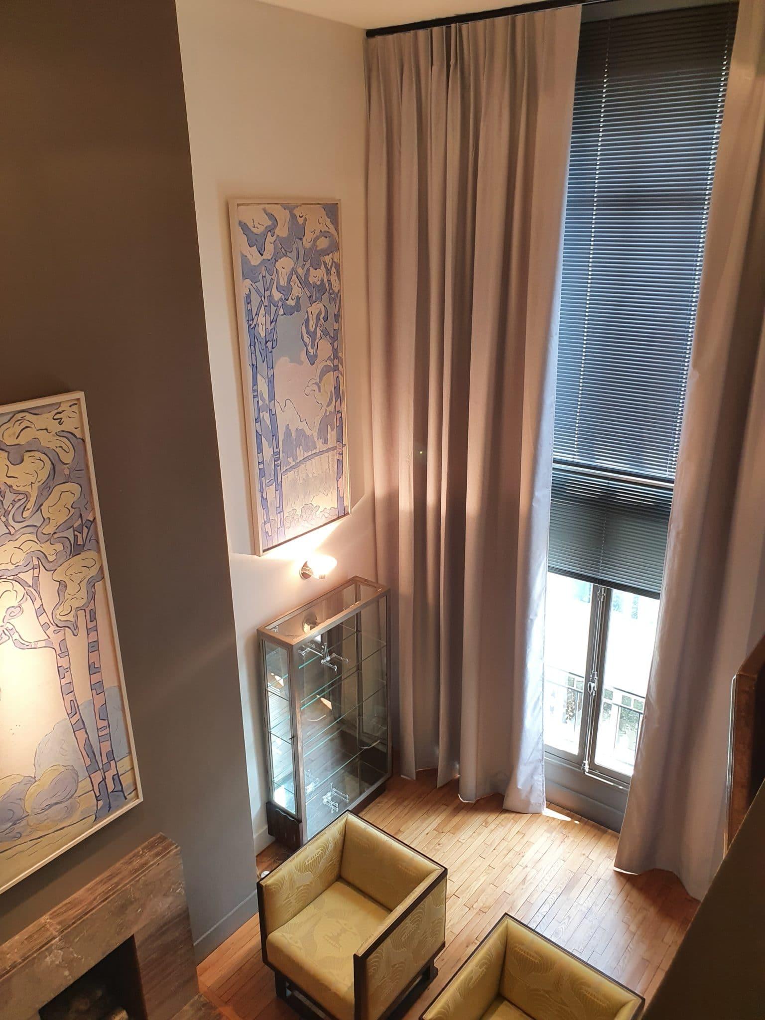 confection de rideaux sur mesure Paris