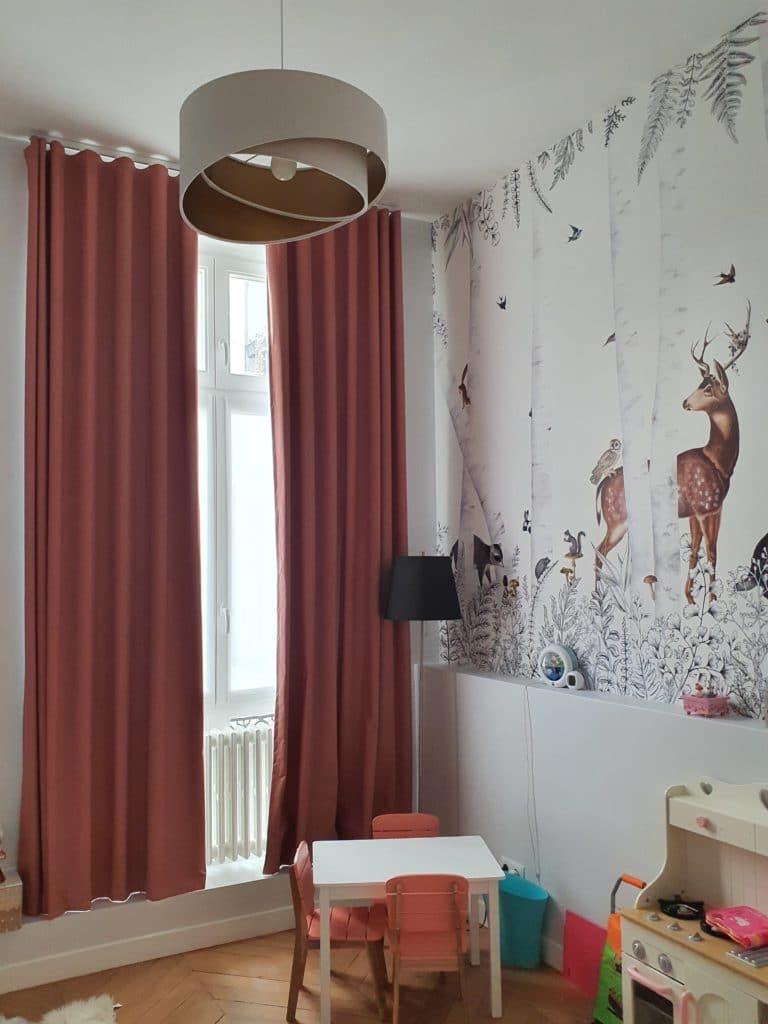 rideaux occultant sur mesure Paris
