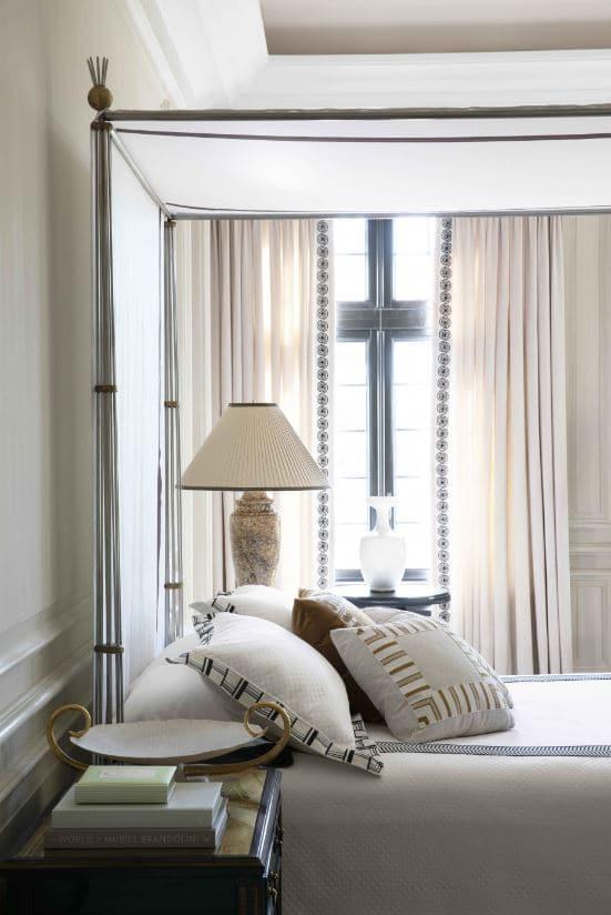 double rideaux sur mesure Paris