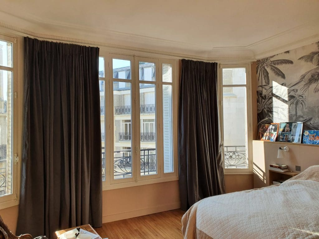 rideaux wave bow window paris